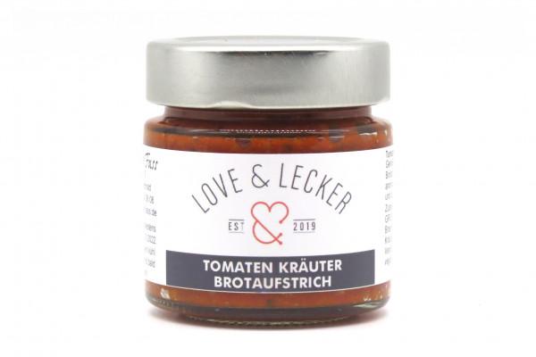 Tomaten Kräuter Brotaufstrich