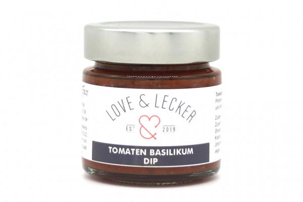 Tomaten - Basilikum Dip