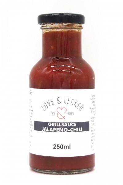 Grillsauce Jalapeno - Chili